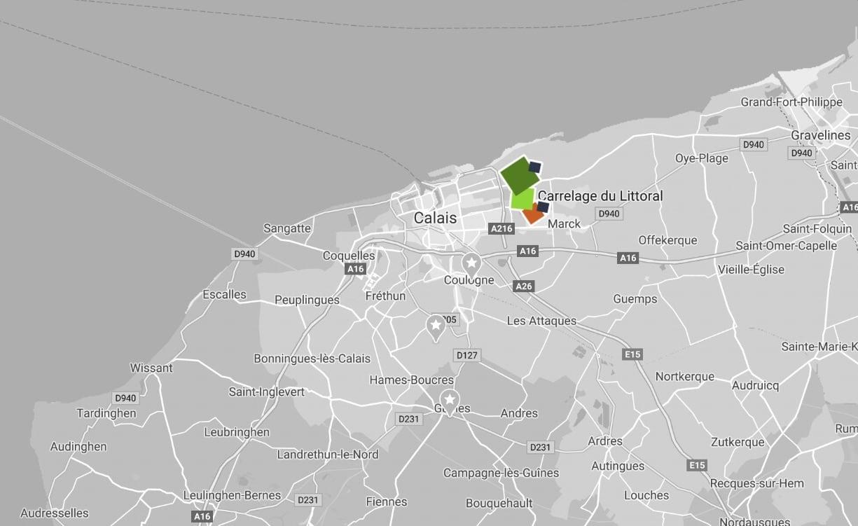Votre magasin de carrelage spécialisé à Calais